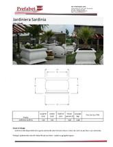 Jardiniera din beton Prefabet