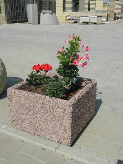 Jardiniere din beton / Jardiniera din beton