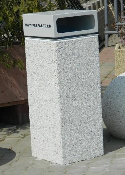 Cos de gunoi din beton Cos de gunoi Mobilier urban