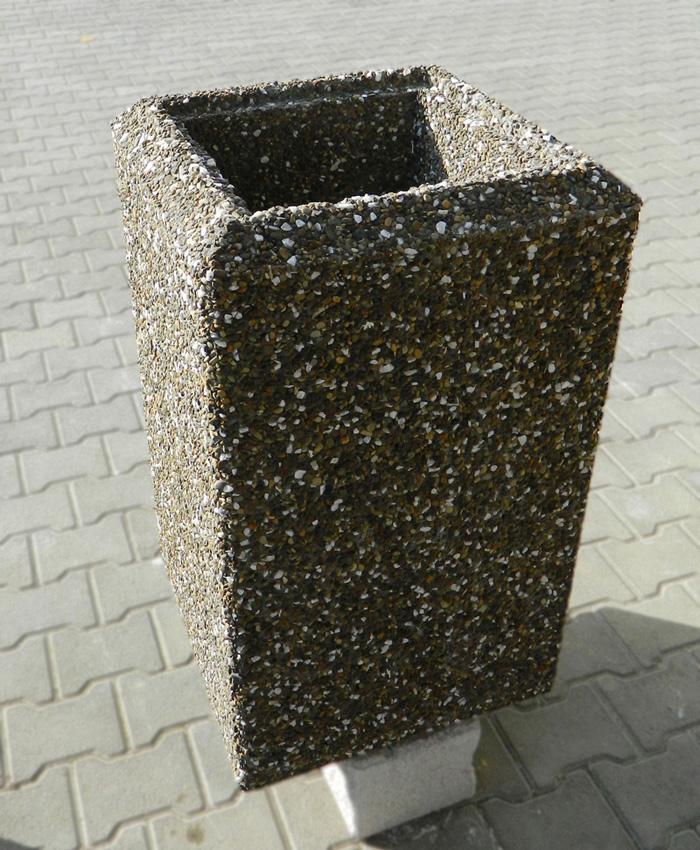Prezentare produs Cos de gunoi din beton Prefabet - Poza 3