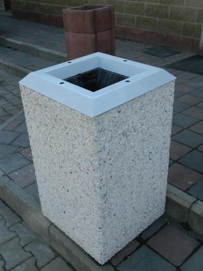 Mobilier urban / Cos de gunoi din beton