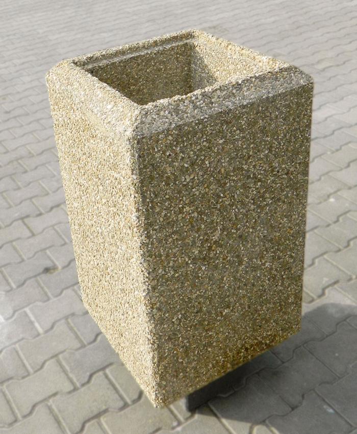 Prezentare produs Cos de gunoi din beton Prefabet - Poza 6