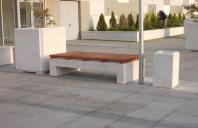Mobilier urban din beton si piatra spalata Prefabet