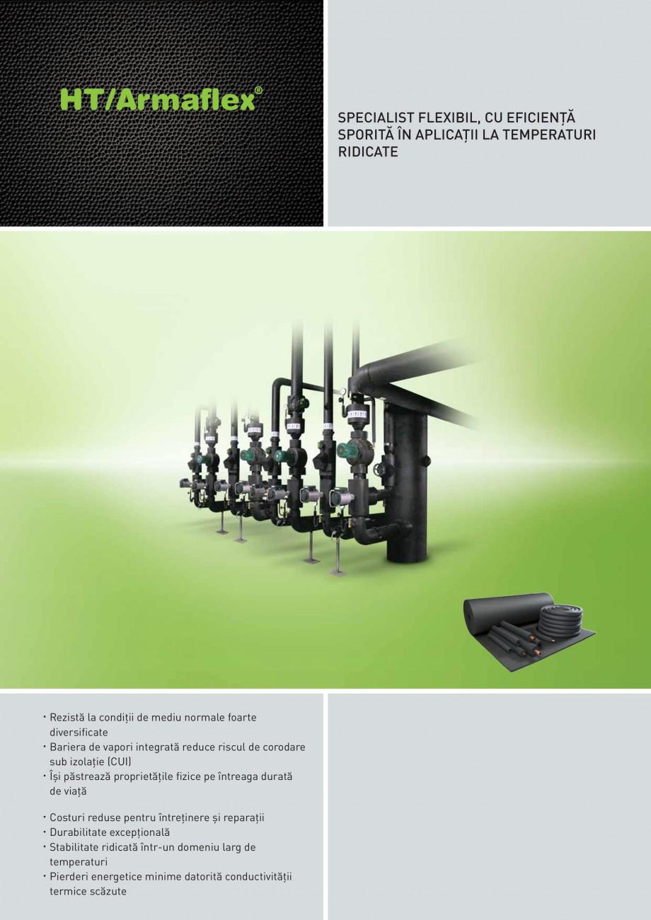 Pagina 1 - Izolatie elastomerica flexibila pentru sisteme de incalzire ARMACELL Armaflex HT Fisa...