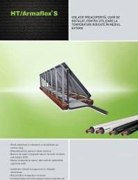 Izolatie elastomerica flexibila rezistenta la temperaturi ridicate