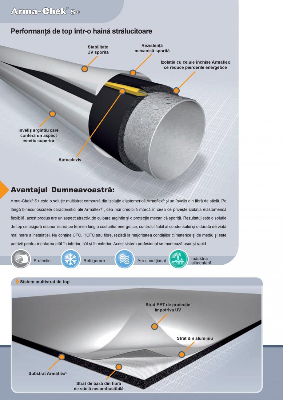Pagina 2 - Izolatie din elastomer cu aluminiu ARMACELL Arma-Check S+ Fisa tehnica Romana iei. Nu...