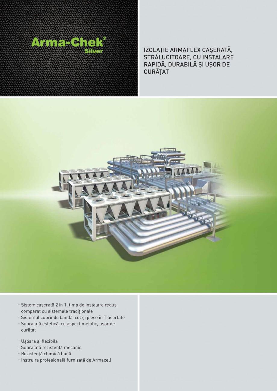 Pagina 1 - Izolatie din elastomer cu protectie din metal ARMACELL Arma-Check Silver Fisa tehnica...