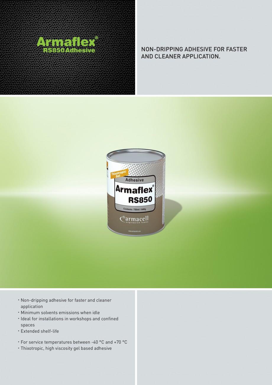 fisa tehnica adeziv gel pentru elastomer armaflex rs850. Black Bedroom Furniture Sets. Home Design Ideas