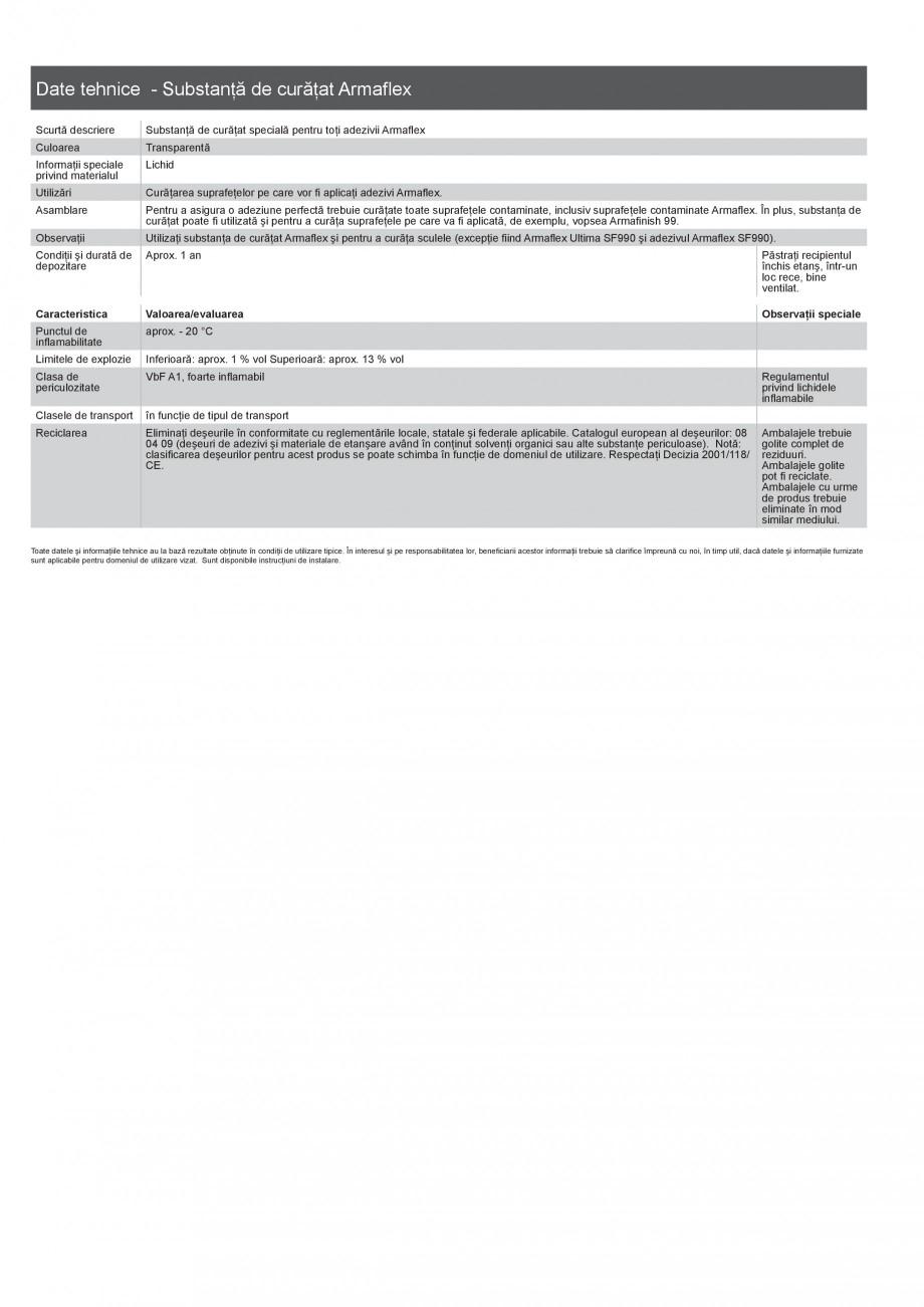 Pagina 5 - Scule si accesorii pentru produsele Armaflex ARMACELL Armaflex HT625, ARMAFLEX 520,...