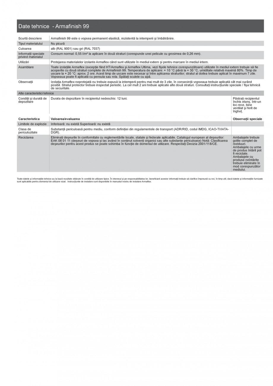 Pagina 6 - Scule si accesorii pentru produsele Armaflex ARMACELL Armaflex HT625, ARMAFLEX 520,...