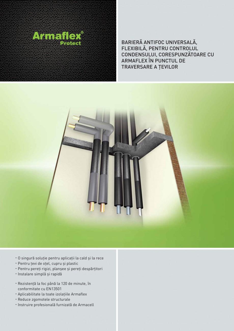 Pagina 1 - Izolatie ignifuga flexibila din spuma elastomerica ARMACELL Armaflex Protect  Fisa...