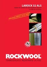 Saltele lamelare vata bazaltica cu aluminiu ROCKWOOL