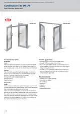 Sisteme antipanica si evacuare conform EN 1125 SI EN 179 - 20304 G-U BKS