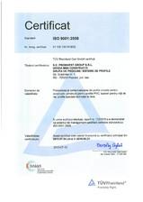Spalieri pentru vita de vie - ISO 9001 PROINVEST