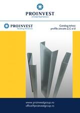 Profile zincate - Indrumar tehnic de proiectare Z,C,U PROINVEST