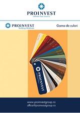 Gama de culori Proinvest Group PROINVEST