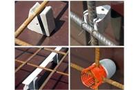 Distantieri pentru structuri din beton si a elemente de structura FRANK