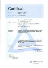 Trepte si panouri din tabla perforata - ISO 9001 PROINVEST