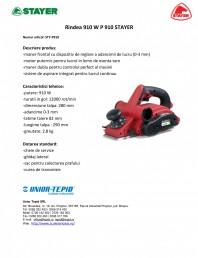 Rindea electrica 910 W
