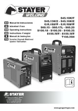 Aparate de sudura tip invertor STAYER WELDING
