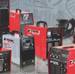 Aparate de sudura tip invertor Unior Tepid ofera o gama de aparate de sudura tip invertor produse de Stayer Welding, cu puteri maxime absorbite intre 3KVA - 6 KVA si procedeu de sudare: MMA sau TIG.