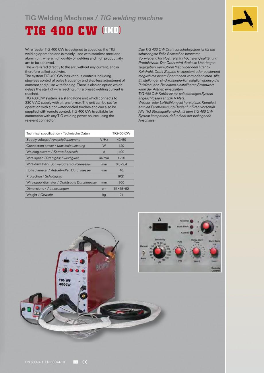 Pagina 19 - Aparate de sudura MIG Iskra VARJENJE MIG 150, MIG 170, MIG 200 B, MIG 200, MIG 210 L...