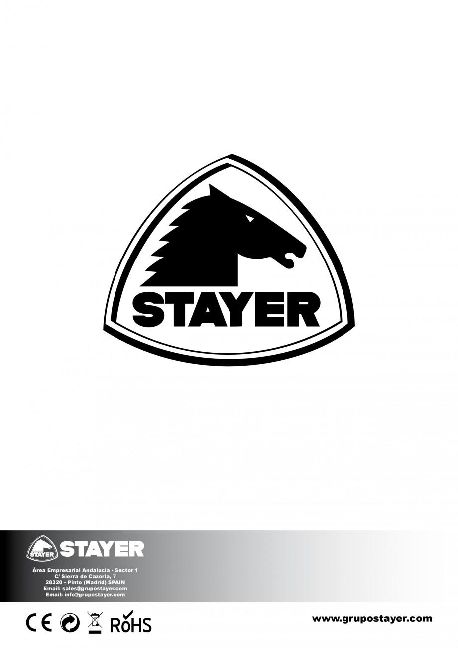 Pagina 28 - Fierastrau sabie 850 W - Manual utilizare STAYER SS 210  Instructiuni montaj, utilizare ...