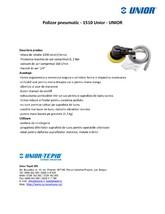 Polizor pneumatic UNIOR
