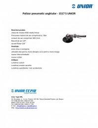 Polizor pneumatic unghiular