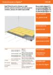 Sapa flotanta pentru plansee- 2xRigidur®H sau element sapa Rigidur® MF PS HF-7 05 00 Saint-Gobain Rigips