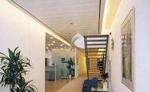 Plafoane lamelare pentru coridoare Rigips® prezinta plafoanele pentru coridoare create cu lamelele Gyptone. Acestea sunt fabricate din materiale naturale, de inalta calitate si cu  o durata lunga de viata.