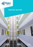 Aplicatii speciale - Protectia la foc a structurilor metalice Saint-Gobain Rigips - Glasroc F Ridurit