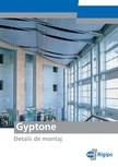 Detalii de montaj pentru plafoane casetate Saint-Gobain Rigips - Gyptone®