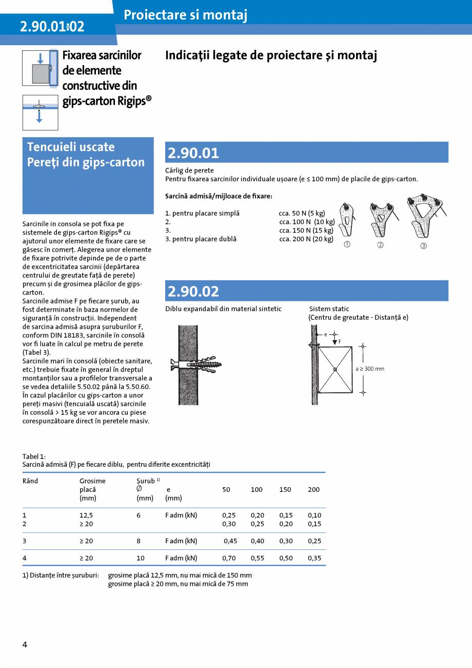 Pagina 4 - Informatii despre sistemele Rigips 2014 Saint-Gobain Rigips Gyprex®, Decogips®,...