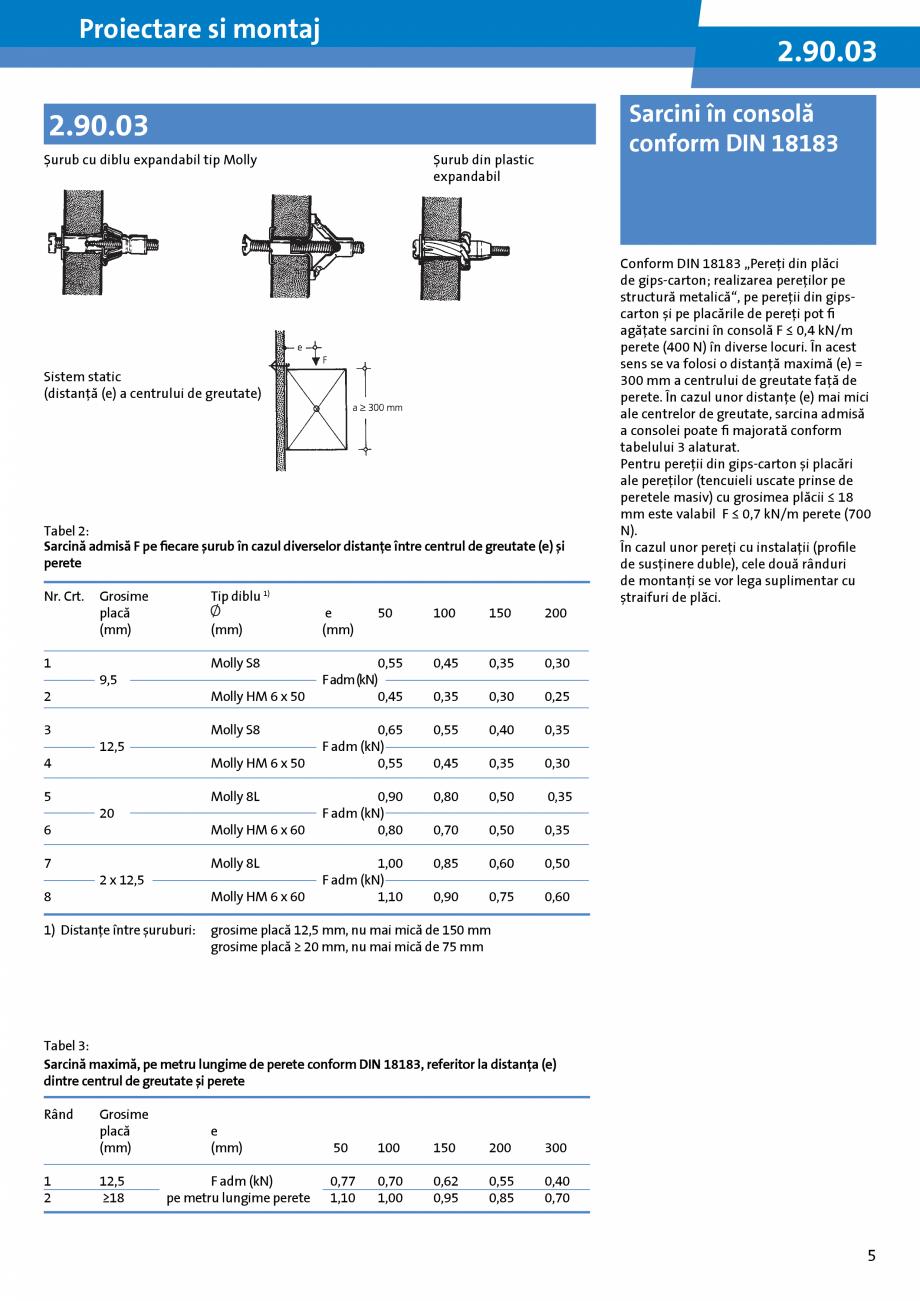 Pagina 5 - Informatii despre sistemele Rigips 2014 Saint-Gobain Rigips Gyprex®, Decogips®,...