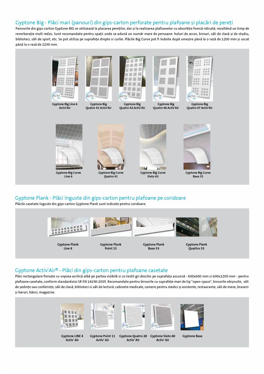 Pagina 5 - Confort acustic si aer curat in interior - GYPTONE Activ'Air® Saint-Gobain...