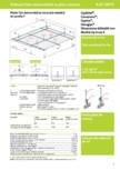 Plafoane false demontabile pe structura metalică din profile T cu placi casetate - 4 07 50-75