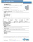 Placi din ipsos armat cu fibra de sticla, pentru tavane casetate -Decogips Coral Saint-Gobain Rigips -