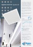 Plafoane acustice - ActivAir -Tile Quattro  Saint-Gobain Rigips - Gyptone®