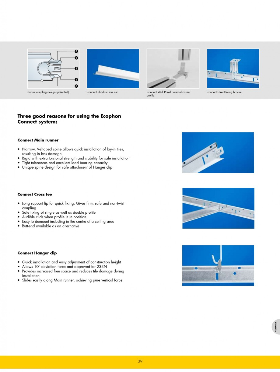 Pagina 39 - Plafoane casetate ECOPHON Ecophon Catalog, brosura Engleza Hospital), Warsaw, Poland...