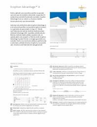 Plafon suspendat - Ecophon Advantage