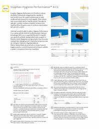 Sistem de plafon fonoizolant - Ecophon Hygiene Performance