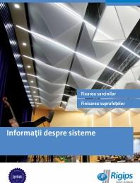Informatii despre sistemele Rigips 2014