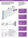 Tencuiala uscata pe structura metalica independenta UW-CW 50 75 100 125 - Glasroc® F - 3