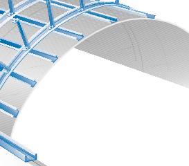Glasroc F Riflex - plafon curbat Glasroc F Riflex Placa din ipsos armat cu fibra de