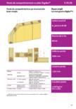 Pereti de compartimentare pe structura simpla din lemn - Rigidur® H - 3 35 01 -1x12