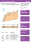 Tencuiala uscata pe structura metalica independenta UW-CW 50 75 100 - Rigidur®H - 3 81 10