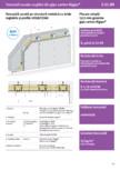 Tencuiala uscata structura metalică cu bride reglabile si profile UD28-CD60 - Rigips® - 3 21 00