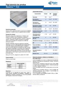 Placa pe baza de ciment rezistenta la umiditate RIGIPS