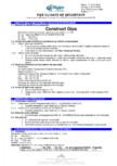 Fisa cu date de securitate pentru pulbere de ipsos pentru constructii Saint-Gobain Rigips - Rigips® Construct